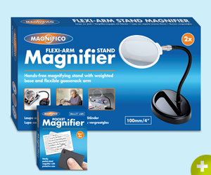 image of packaging for Magnifico